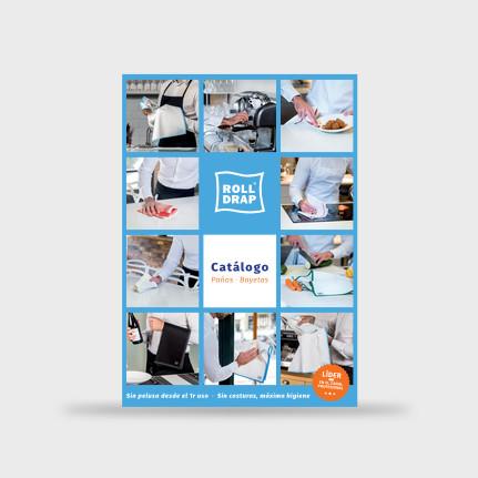 Agència de publicitat a Barcelona. Estudi de disseny gráfico.Diseñadores del catàleg de la marca Rolldrap. Gruetzi