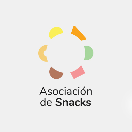 Estudio de diseño gráfico en Barcelona. Diseñadores del logotipo de la Asociación de Snacks. Gruetzi